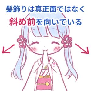 つくよみちゃんの髪飾り資料