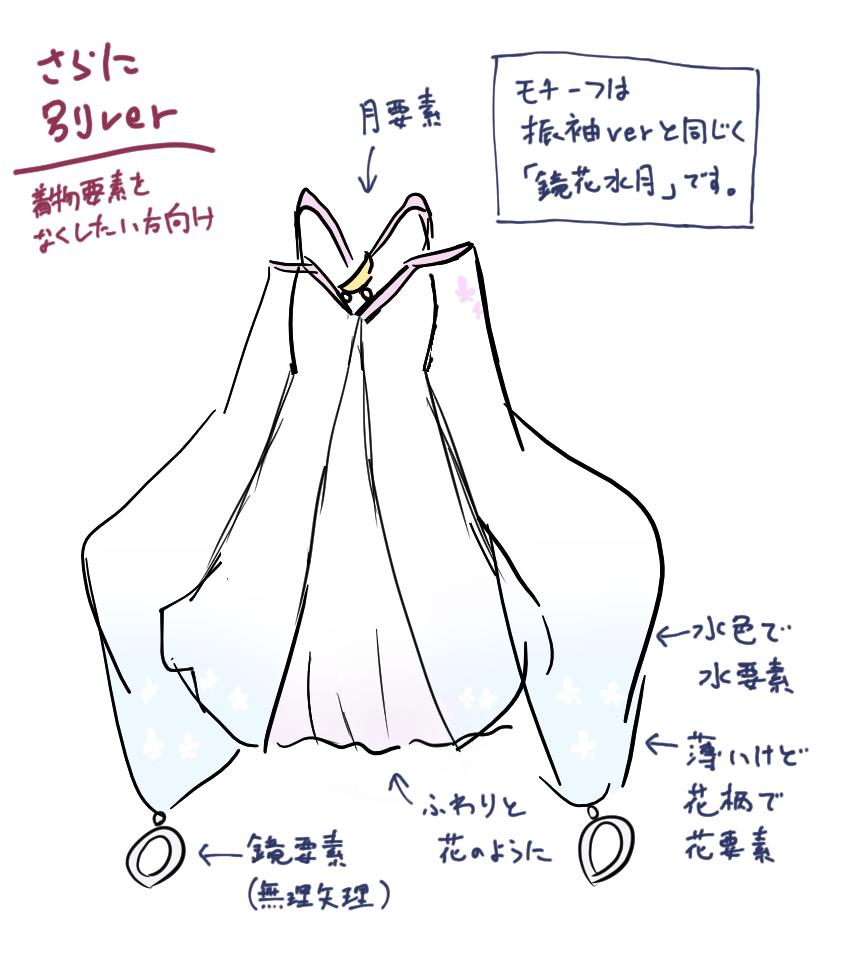 つくよみちゃん 改造着物 ver3